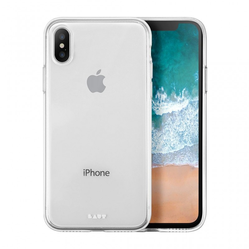 LAUT Lume TPU Case iPhone X/Xs Ultra Clear - 1