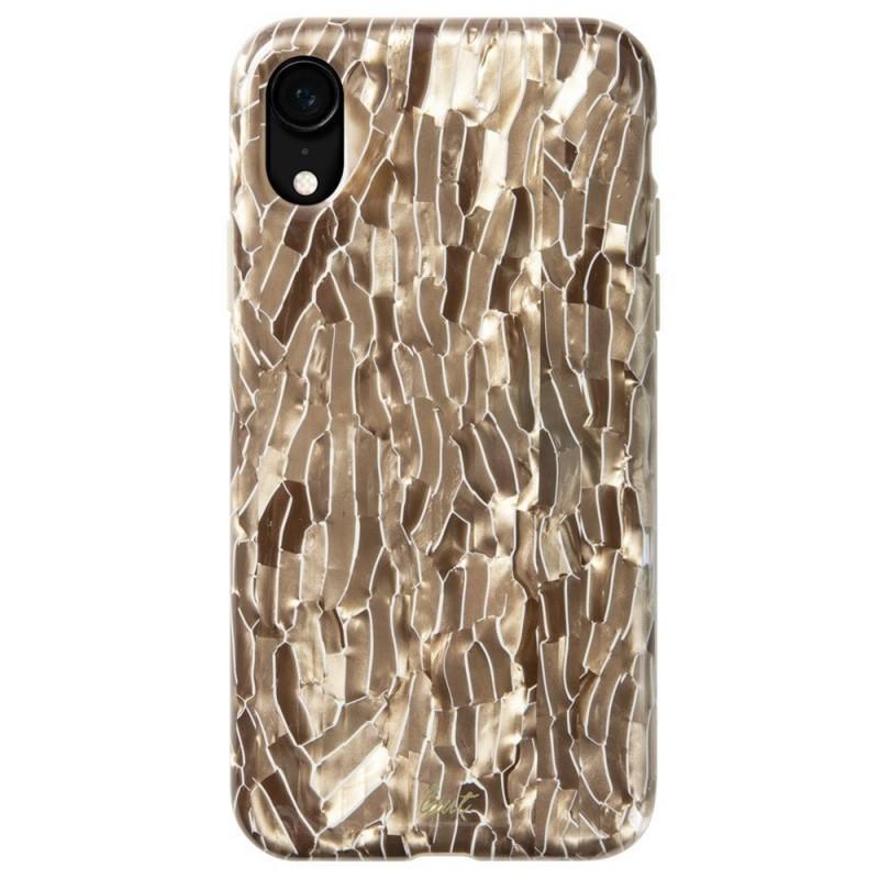 LAUT Pearl Case iPhone XR Champagne Goud 03