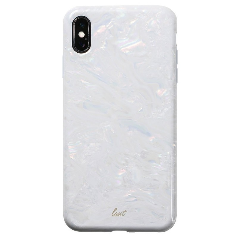 LAUT Pearl Case iPhone XS Max Hoesje Artic Pearl 03
