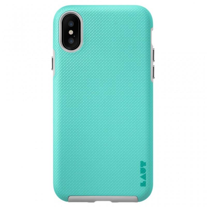 LAUT Shield iPhone X/Xs Mint Green - 3