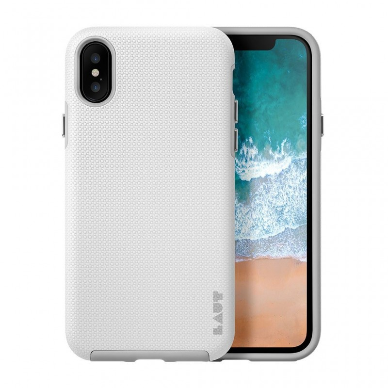 LAUT Shield iPhone X White - 2