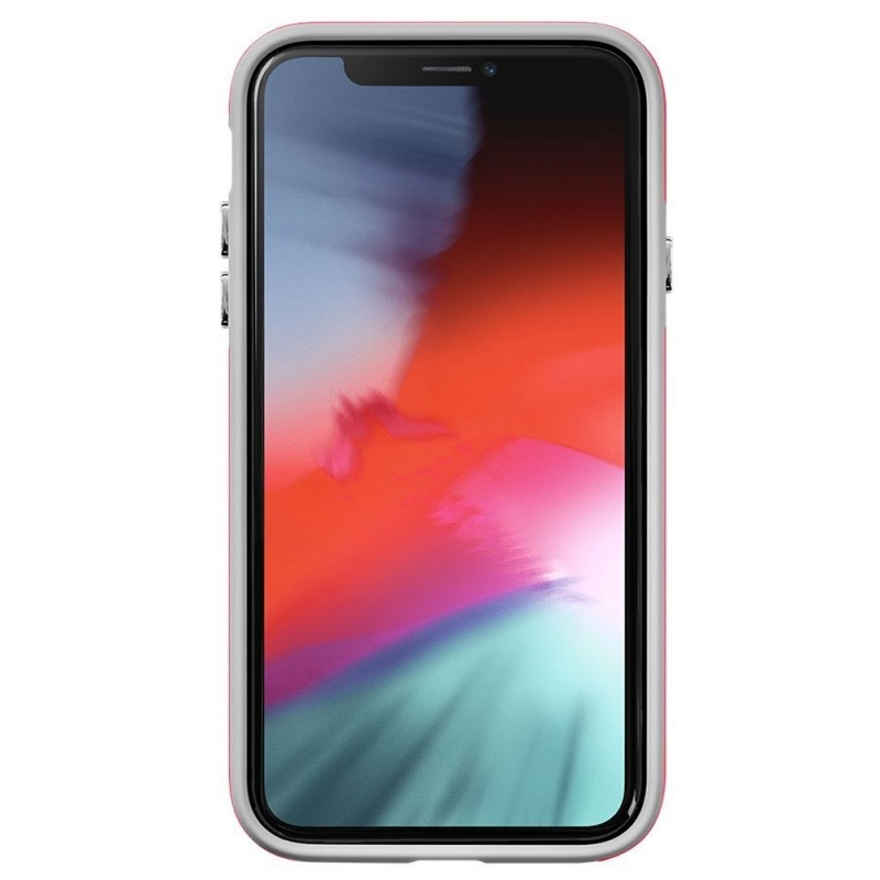 LAUT Shield iPhone XR Hoesje Roze 02