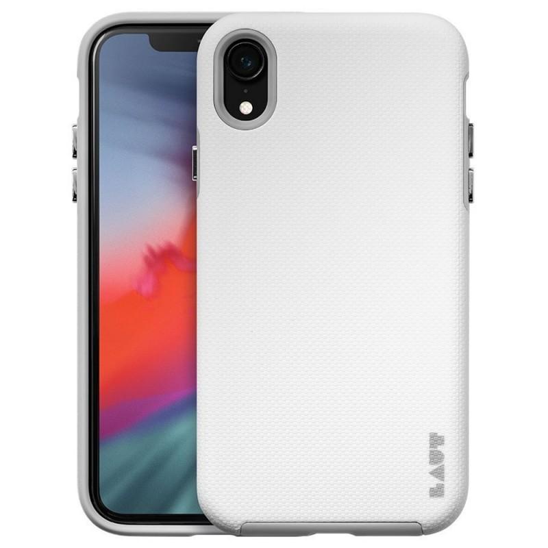 LAUT Shield iPhone XR Hoesje Wit 01