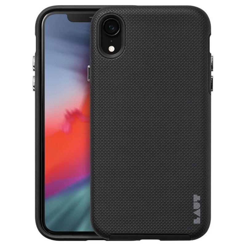 LAUT Shield iPhone XR Hoesje Zwart 01