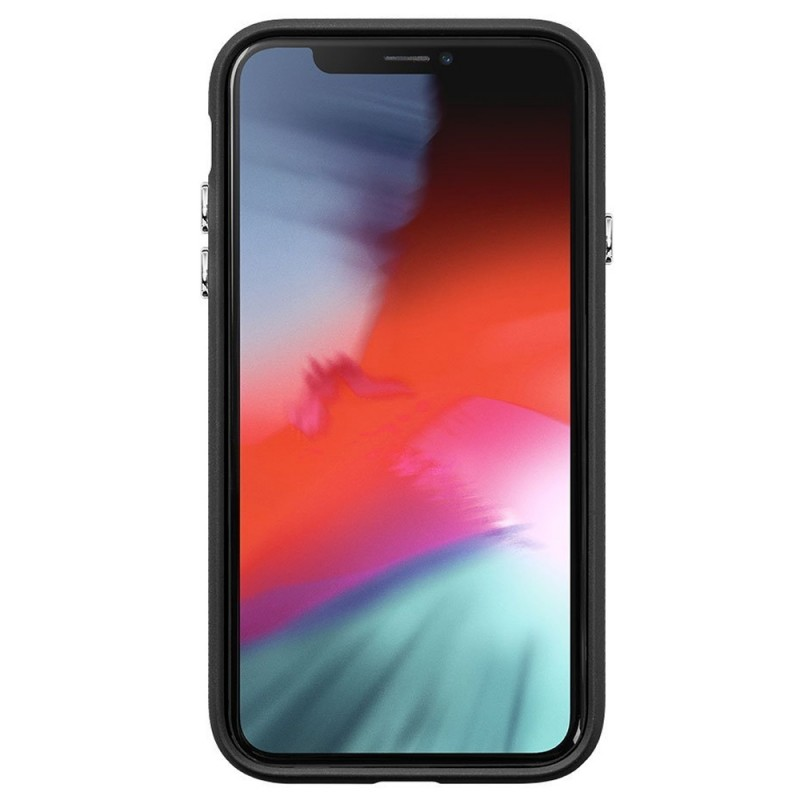 LAUT Shield iPhone XR Hoesje Zwart 02