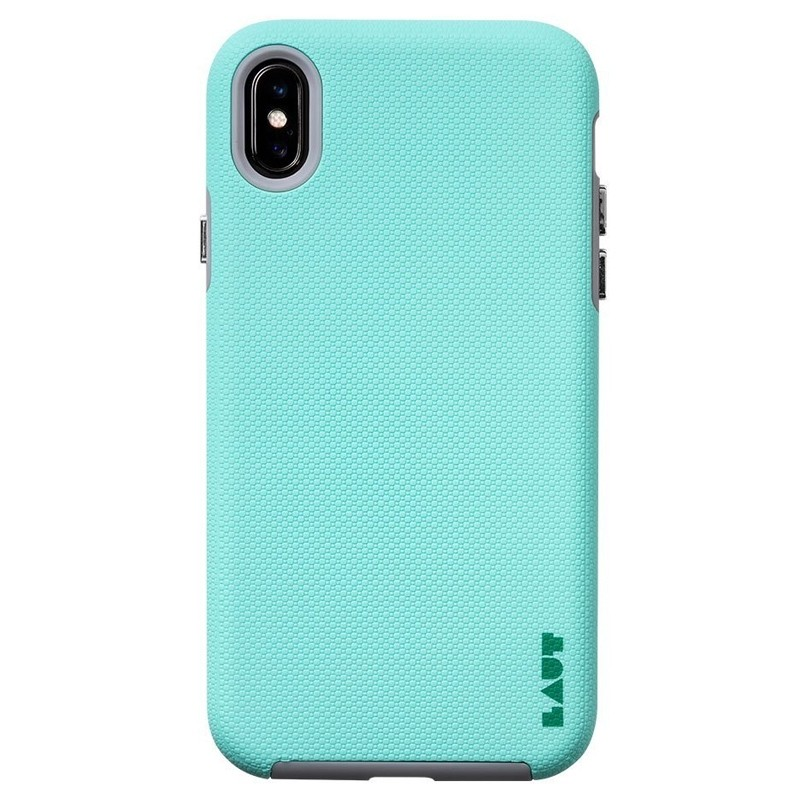 LAUT Shield iPhone XS Max Case Mint groen 03