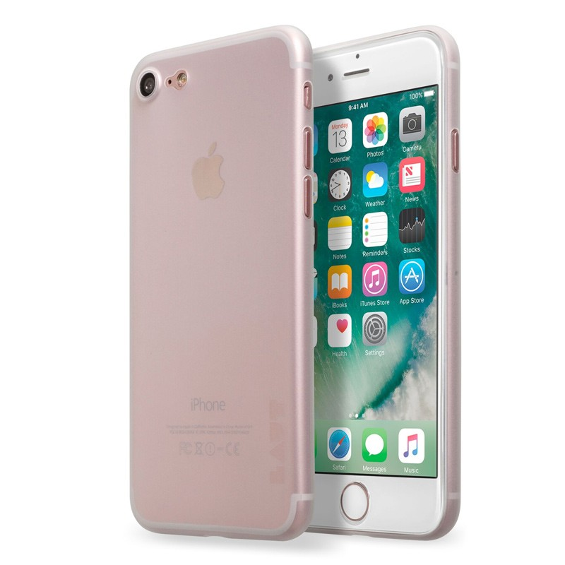 LAUT SlimSkin iPhone 7 Plus Clear 01