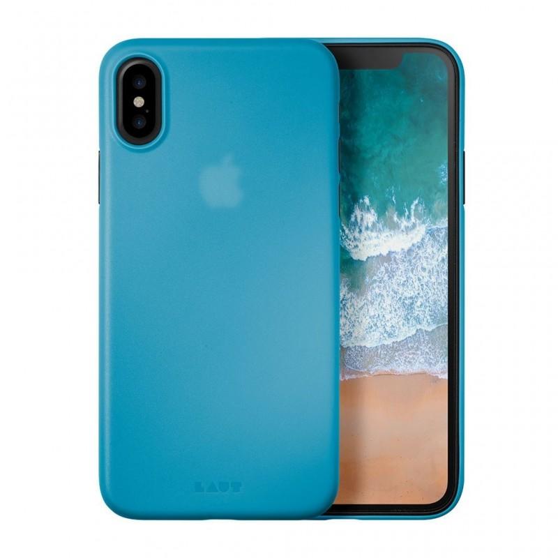 LAUT SlimSkin iPhone X/Xs Blue - 1