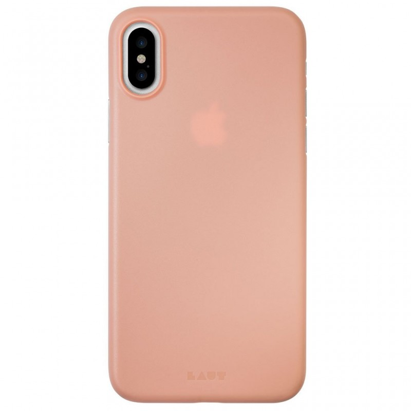 LAUT SlimSkin iPhone X/Xs Coral Pink - 2