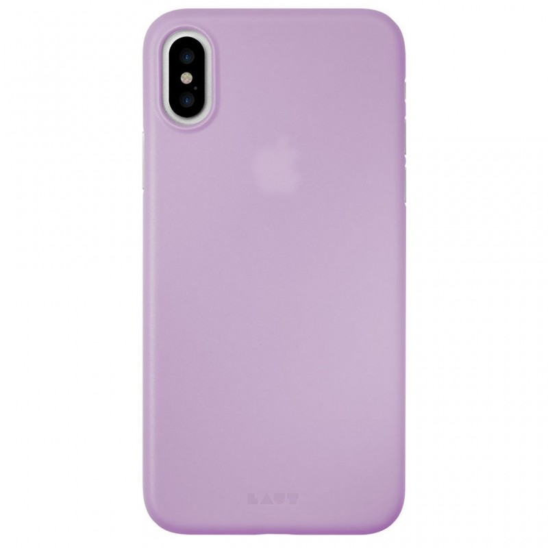 LAUT SlimSkin iPhone X/Xs Violet Purple - 2