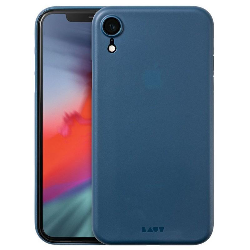 LAUT SlimSkin iPhone XR Dark Teal Blauw 01