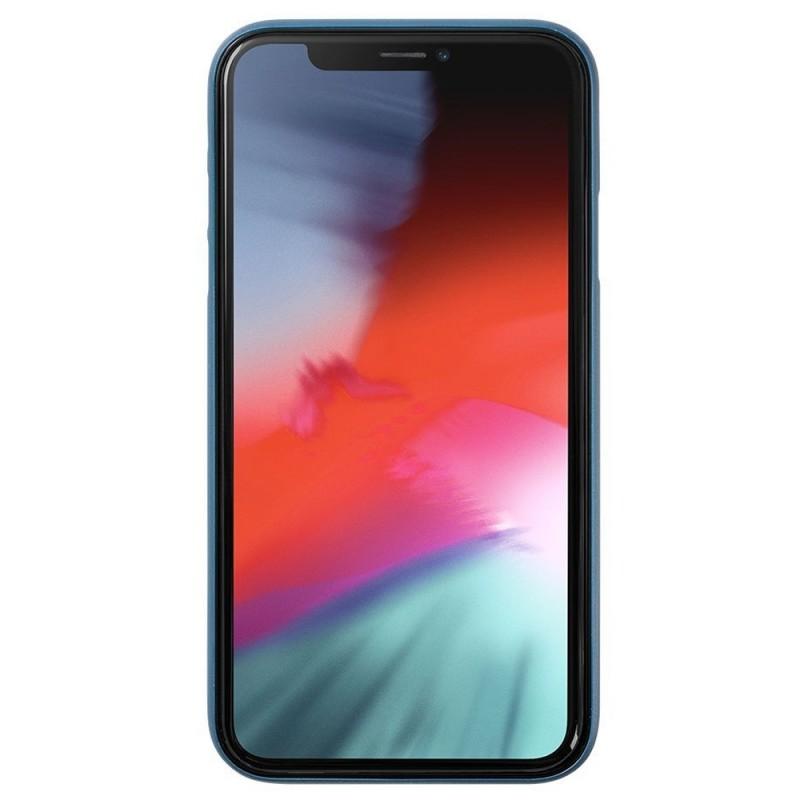 LAUT SlimSkin iPhone XR Dark Teal Blauw 02