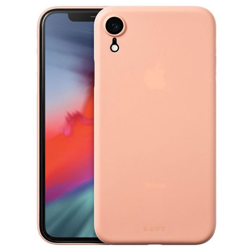 LAUT SlimSkin iPhone XR Roze 01