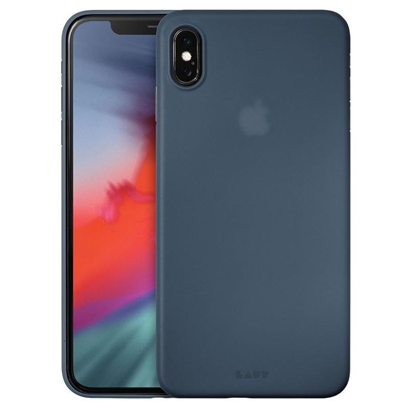 LAUT SlimSkin Flinterdun iPhone XS Max Hoesje Dark Teal 01