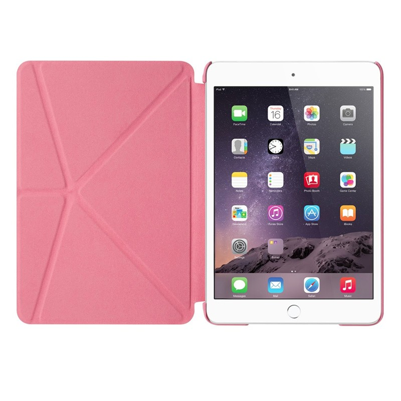 LAUT Trifolio iPad mini 4 Pink - 4