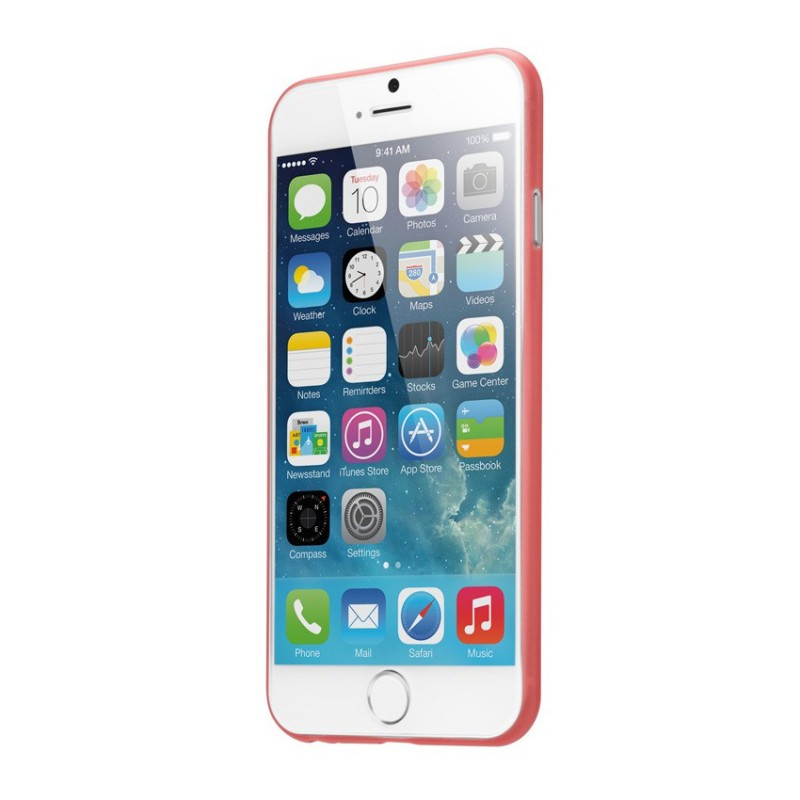 LAUT SlimSkin iPhone 6 Red - 2