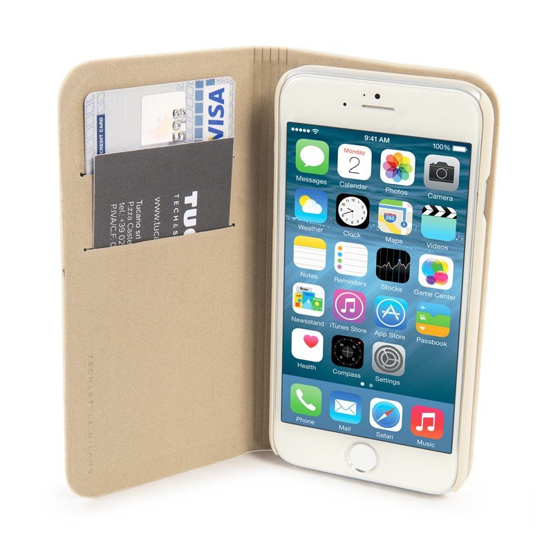 Tucano Libro iPhone 6 Plus White - 6