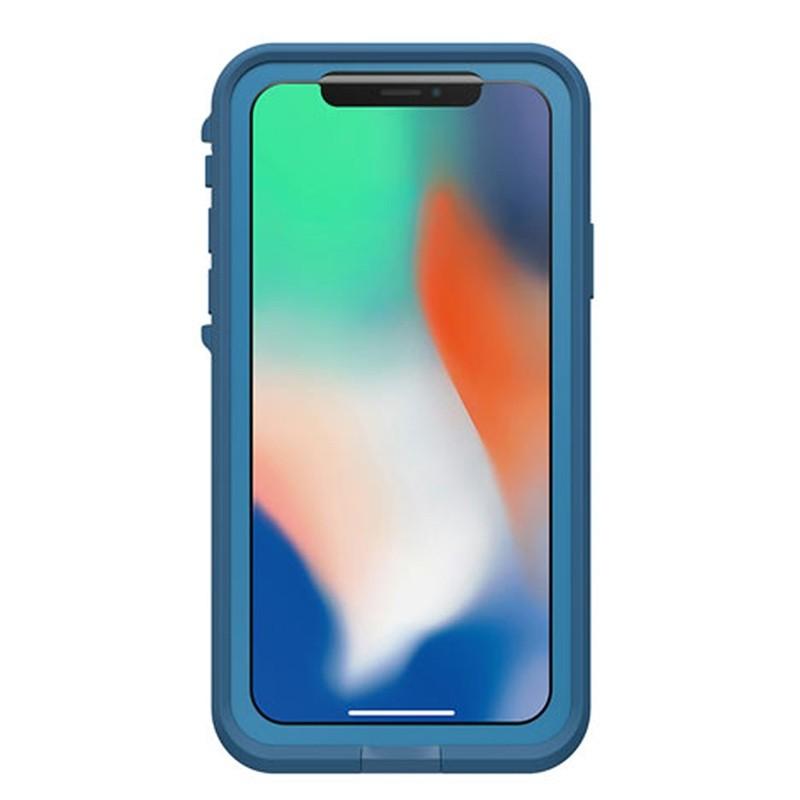 Lifeproof Waterproof Fre Case iPhone X Banzai Blue 04