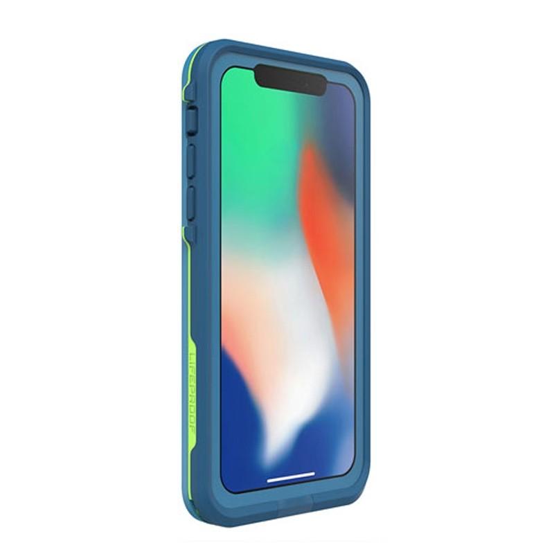 Lifeproof Waterproof Fre Case iPhone X Banzai Blue 05