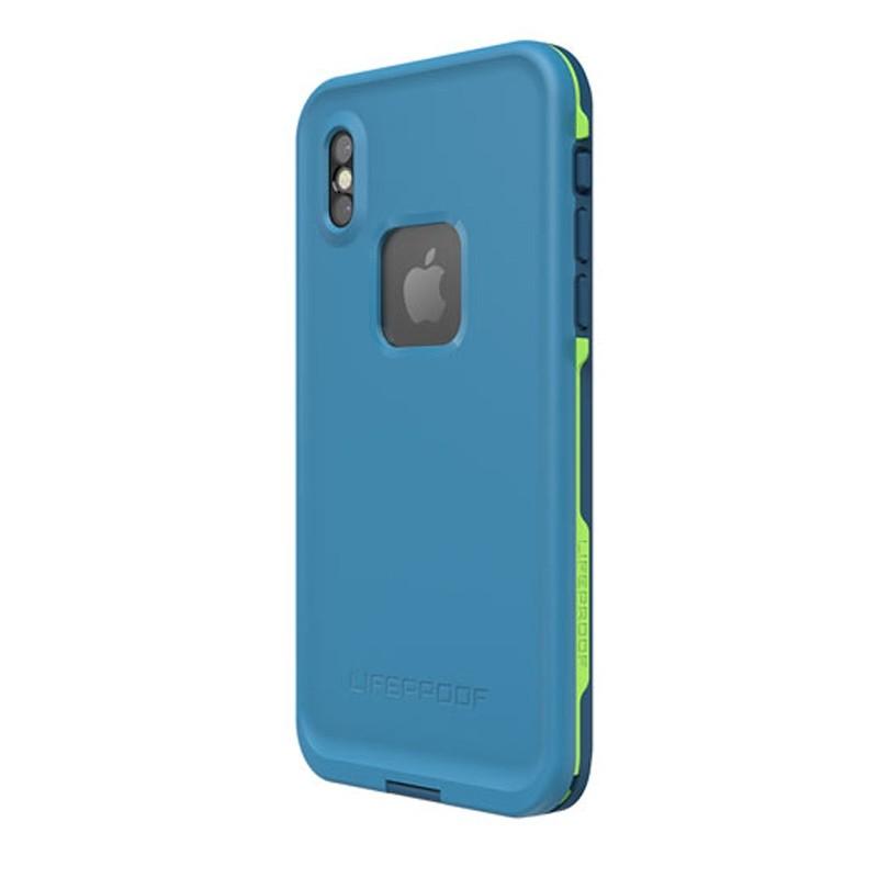 Lifeproof Waterproof Fre Case iPhone X Banzai Blue 07