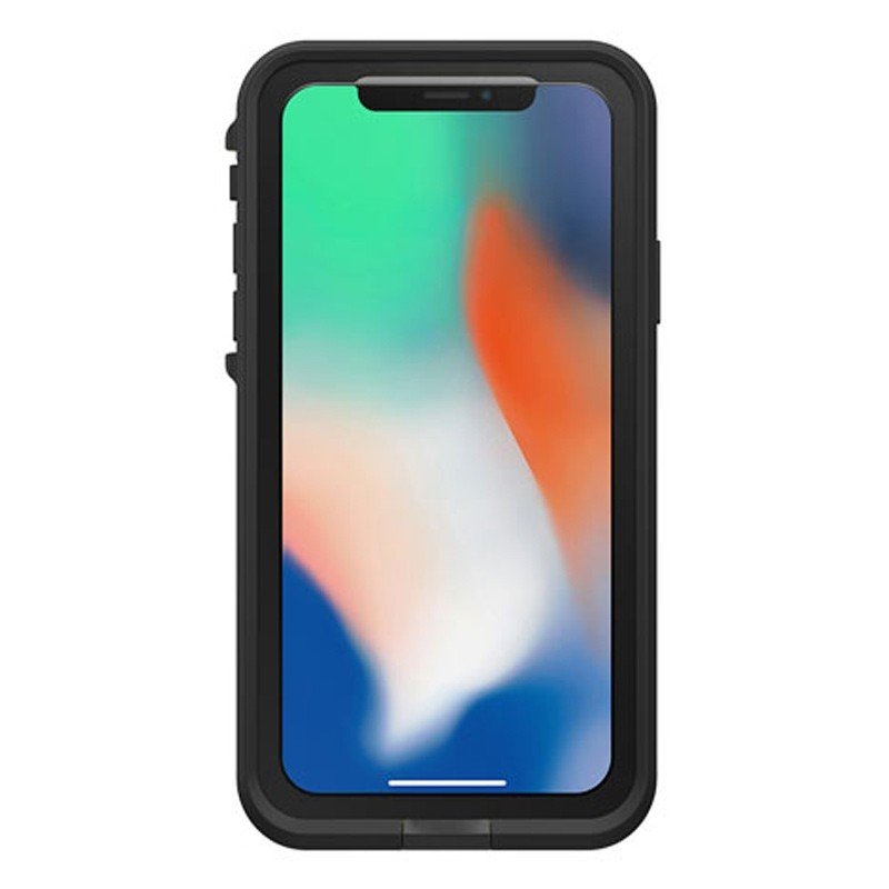 Lifeproof Waterproof Fre Case iPhone X/Xs Zwart 04