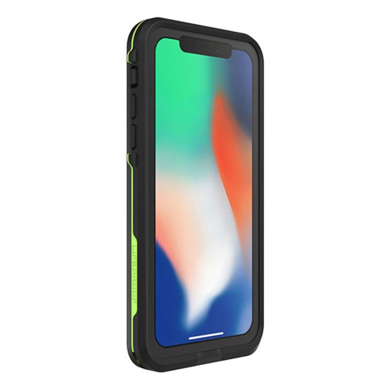 Lifeproof Waterproof Fre Case iPhone X Zwart 05