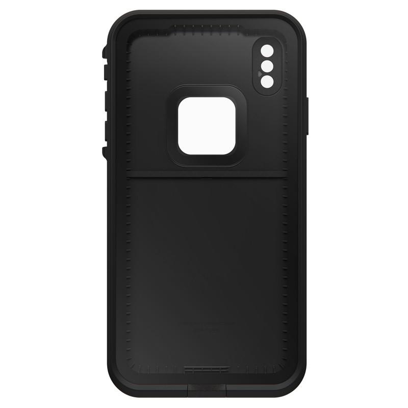 Lifeproof Fre Case iPhone XS Max Zwart (Asphalt Black) 03