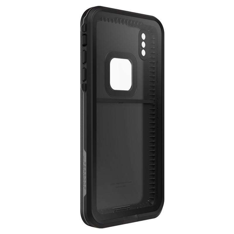 Lifeproof Fre Case iPhone XS Max Zwart (Asphalt Black) 05