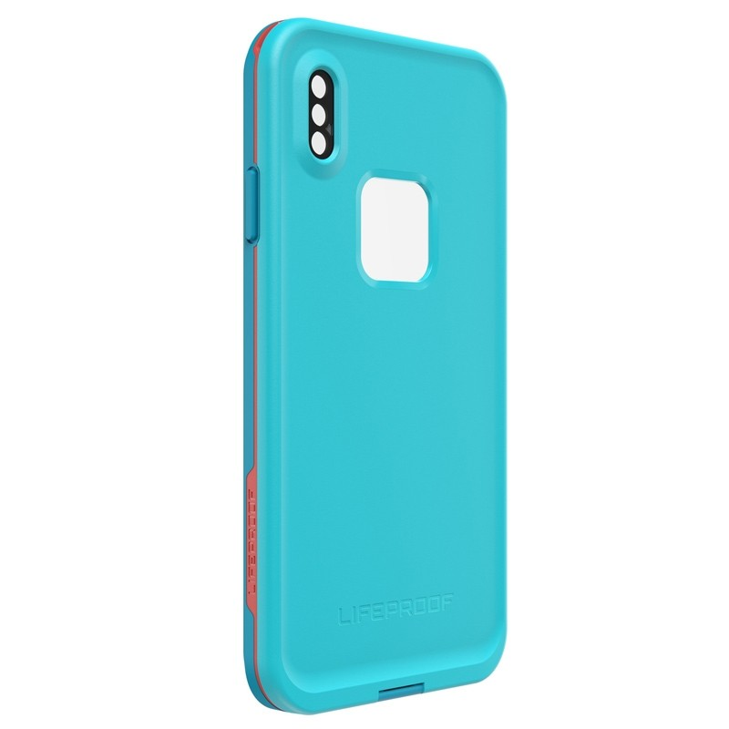 Lifeproof Fre Case iPhone XS Max Lichtblauw (Boosted) 04