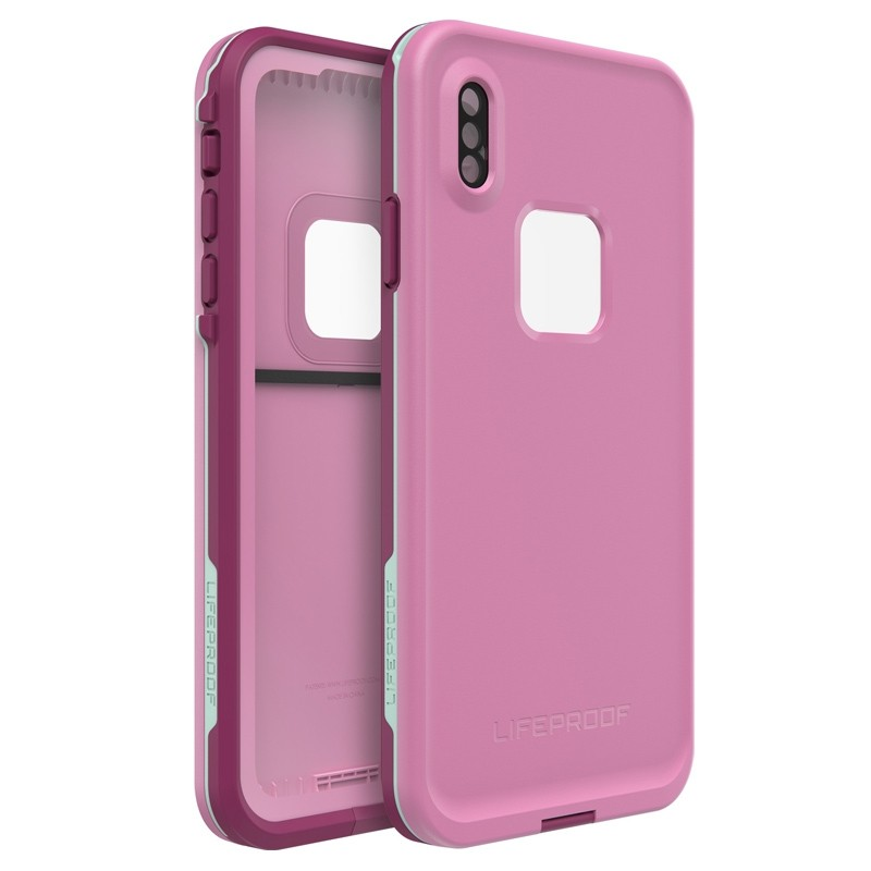 Lifeproof Fre Case iPhone XS Max Roze (Frost Bite) 01