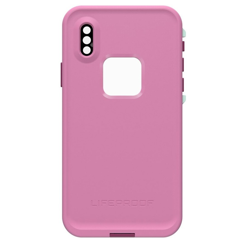 LifeProof Waterdichte Fre Case iPhone XR Frost Bite Roze 02
