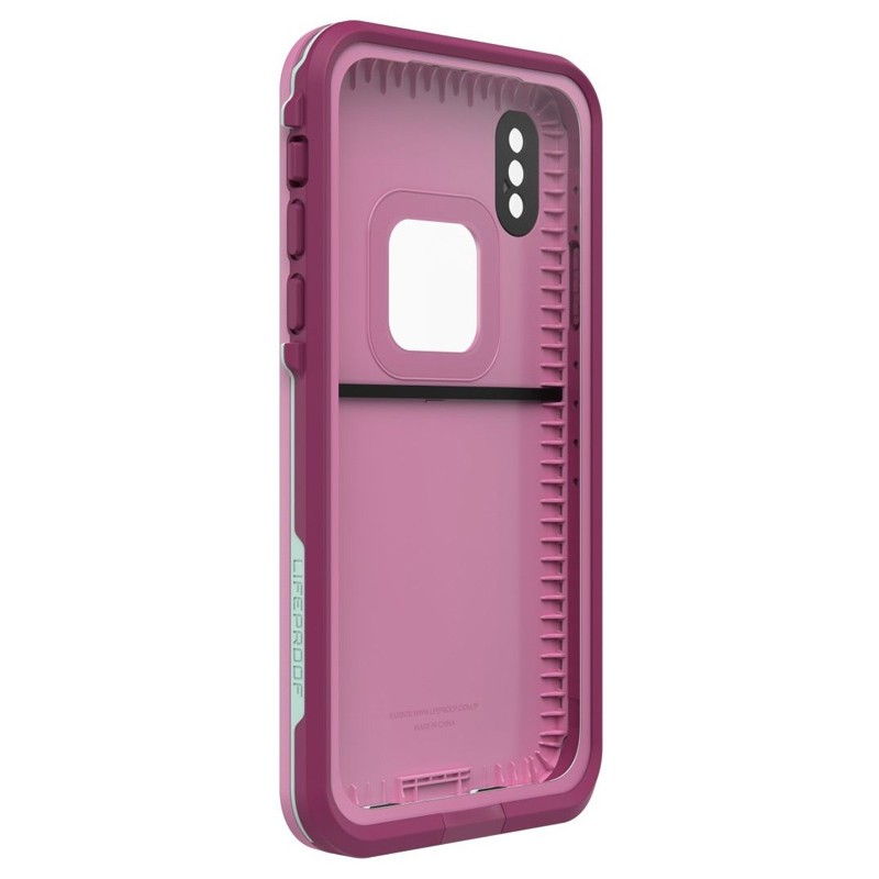 LifeProof Waterdichte Fre Case iPhone XR Frost Bite Roze 04