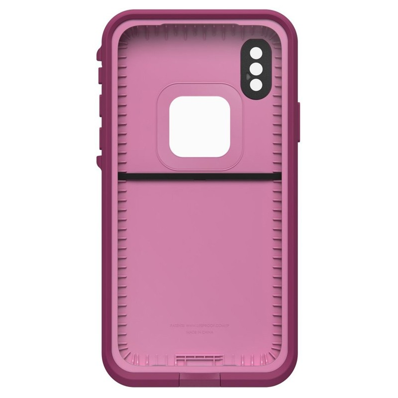 LifeProof Waterdichte Fre Case iPhone XR Frost Bite Roze 05