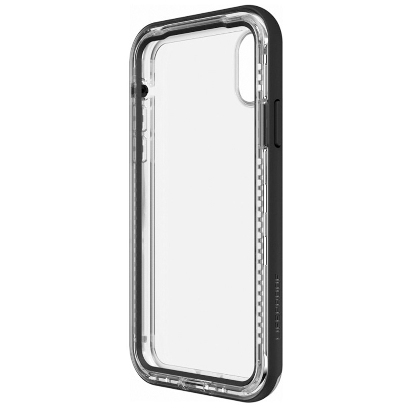 Lifeproof Next iPhone X Case Black Crystal 05