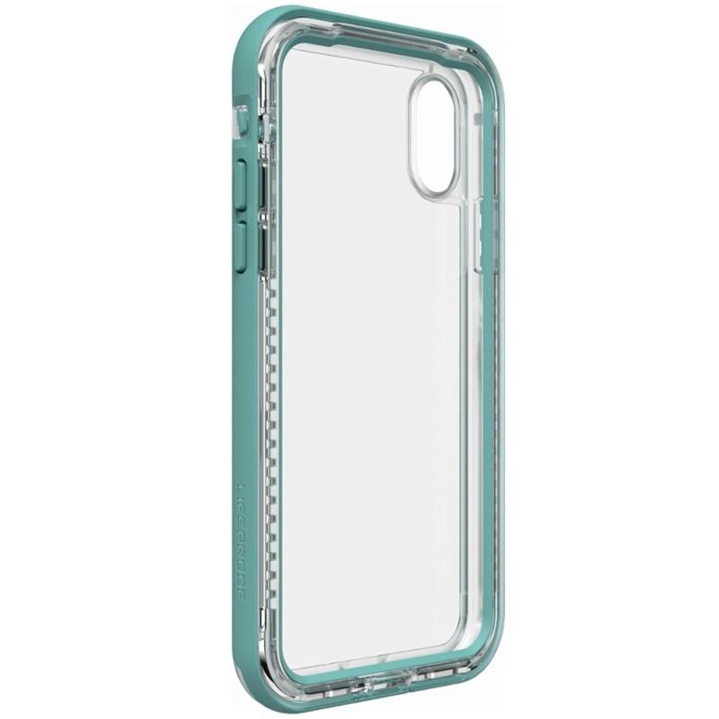 Lifeproof Next iPhone X Case Seaside Turquoise 06