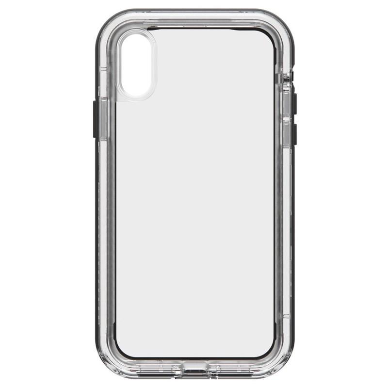 LifeProof Next Extra Stevige iPhone XR Hoes Black Crystal Zwart Transparant 02