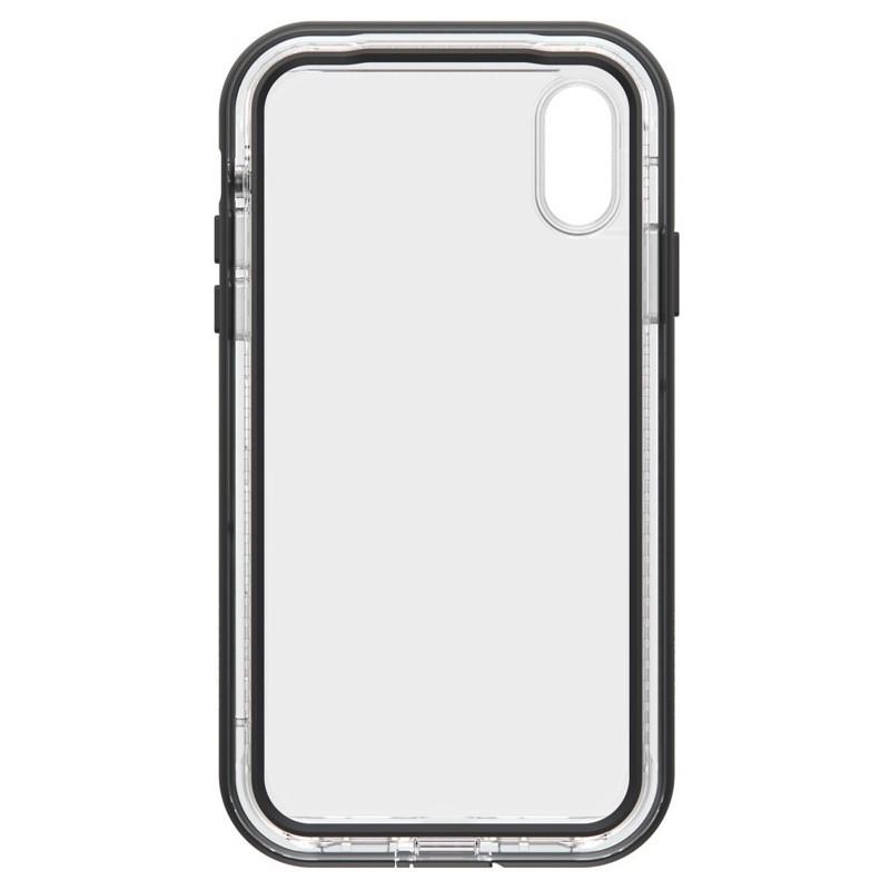 LifeProof Next Extra Stevige iPhone XR Hoes Black Crystal Zwart Transparant 04