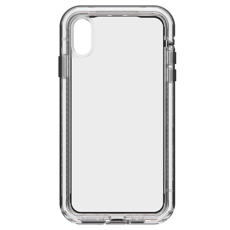 Lifeproof - Next Case iPhone XS Max Zwart (Black Crystal) 01