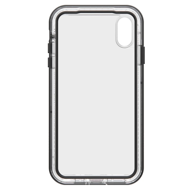 Lifeproof - Next Case iPhone XS Max Zwart (Black Crystal) 02