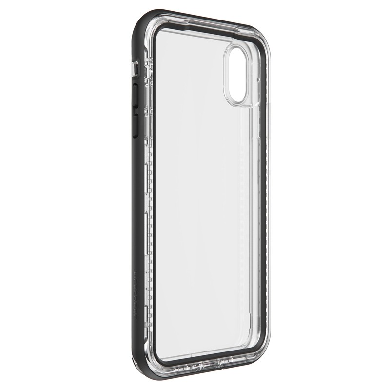 Lifeproof - Next Case iPhone XS Max Zwart (Black Crystal) 04