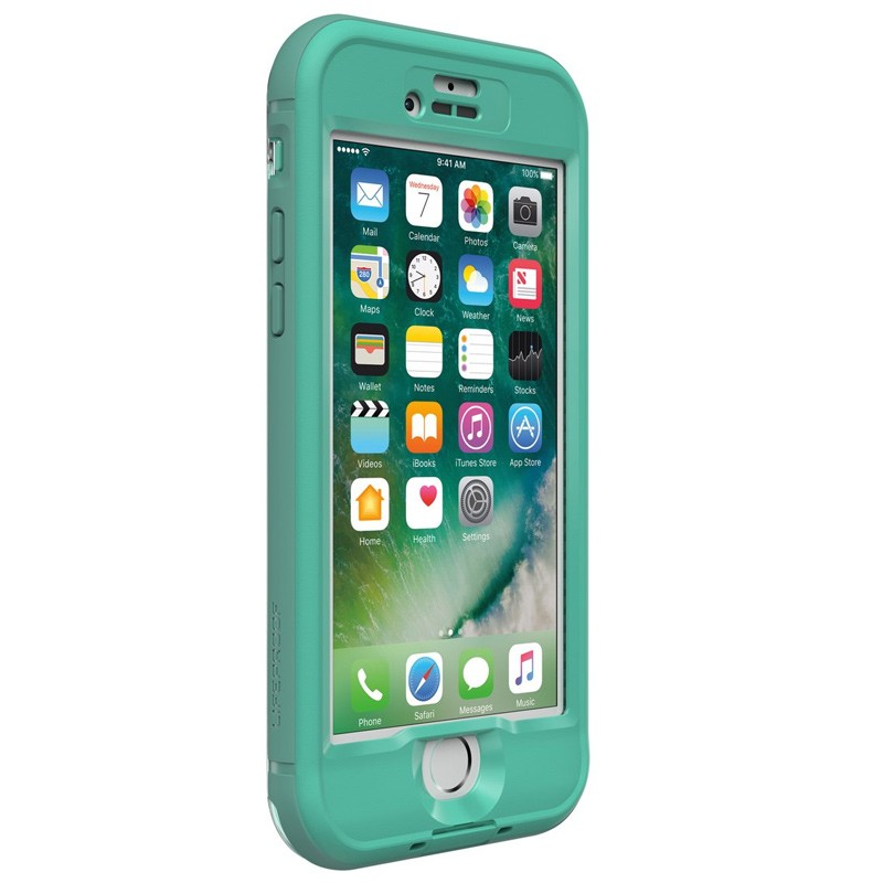 Lifeproof - Nuud Case iPhone 7 mermaid turqoise 02