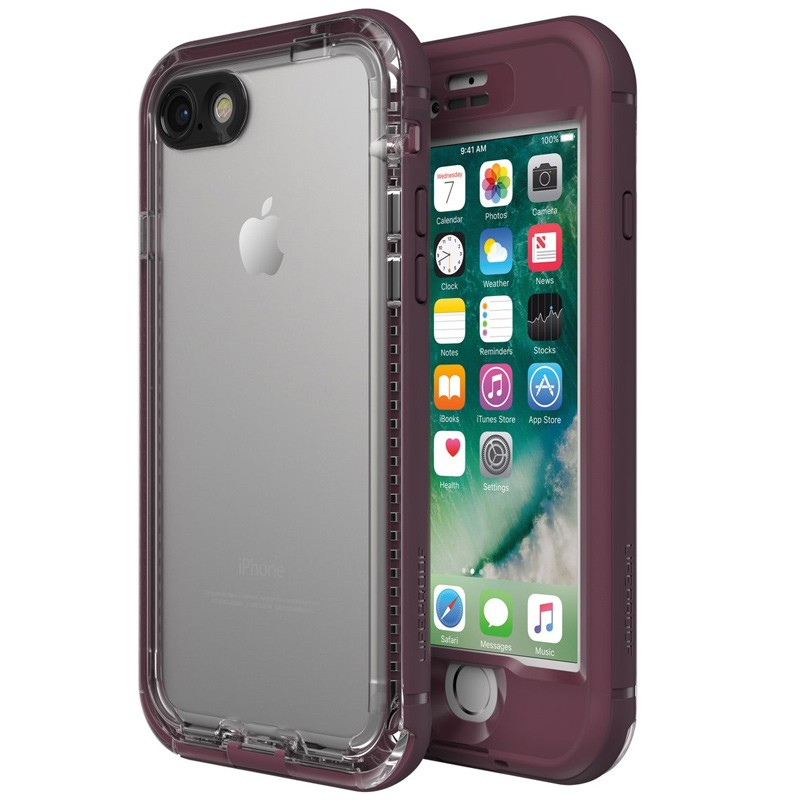 Lifeproof - Nuud Case iPhone 7 Plum Reef 01