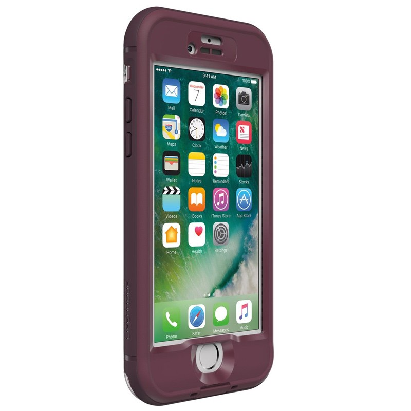 Lifeproof - Nuud Case iPhone 7 Plum Reef 02