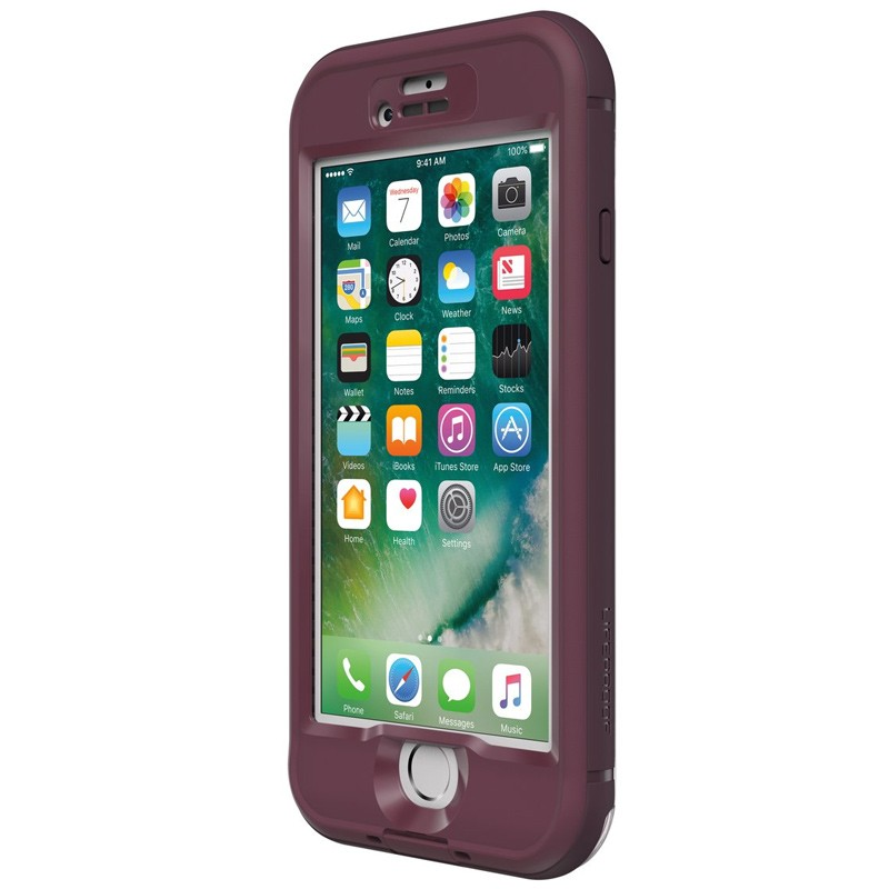 Lifeproof - Nuud Case iPhone 7 Plum Reef 03