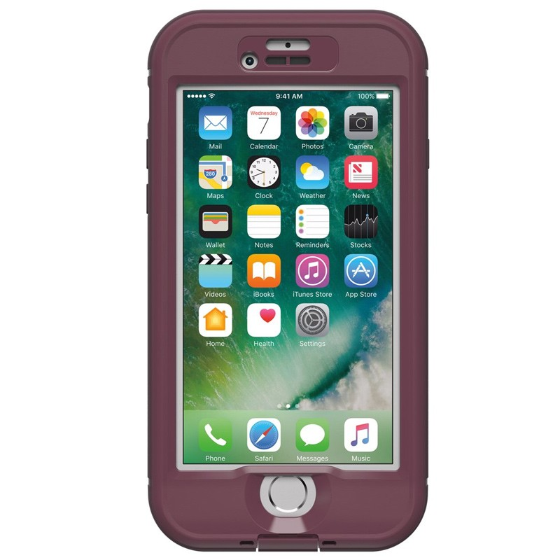 Lifeproof - Nuud Case iPhone 7 Plum Reef 04