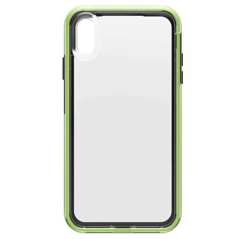 Lifeproof Fre Case iPhone XS Max Zwart / Groen (Night Flash) 02