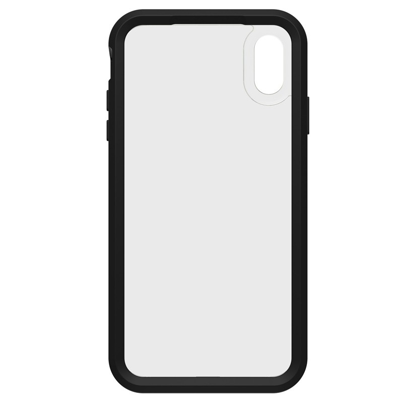 Lifeproof Fre Case iPhone XS Max Zwart / Groen (Night Flash) 03