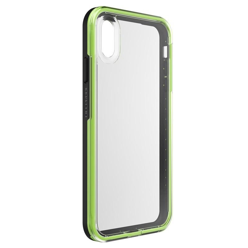 Lifeproof Fre Case iPhone XS Max Zwart / Groen (Night Flash) 04