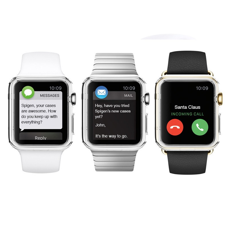 Spigen Liquid Crystal Case Apple Watch 42mm Clear - 2