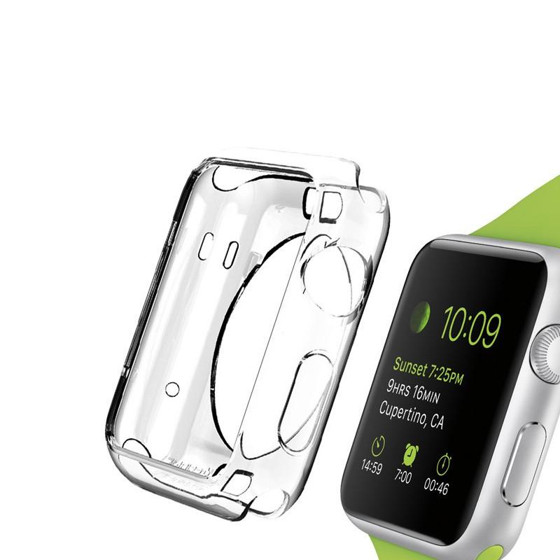 Spigen Liquid Crystal Case Apple Watch 42mm Clear - 4